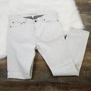 Banana Republic Off White Vintage Straight Jeans